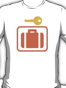 Left Luggage Google Hangouts / Android Emoji T-Shirt