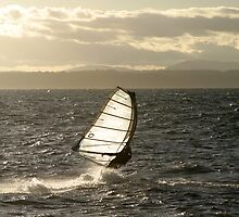 Windsurfing by Olga Zvereva