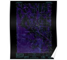 Maine USGS Historical Map Westfield 103105 1984 24000 Inversion Poster