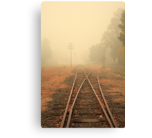 Into the Fog Canvas Print