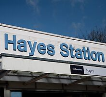Hayes Station Kent by Keith Larby