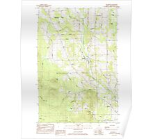 Maine USGS Historical Map Westfield 103105 1984 24000 Poster
