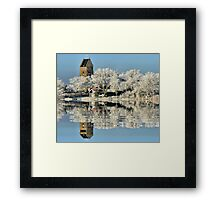 NATURES WINTER MIRROR # 2 Framed Print