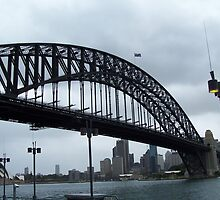Sydney Harbour Bridge & The Opera House by shalayne