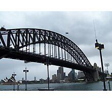 Sydney Harbour Bridge & The Opera House Photographic Print