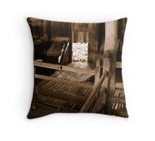 Empty pens Throw Pillow