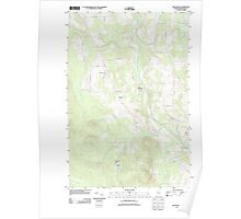 Maine USGS Historical Map Westfield 20110909 TM Poster