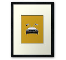 Back To The Future 'Roads'  Framed Print