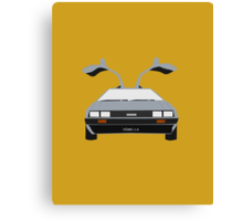 Back To The Future 'Roads'  Canvas Print