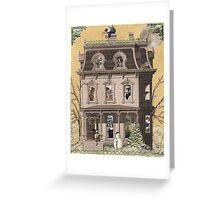 Enchanted Holiday House Greeting Card