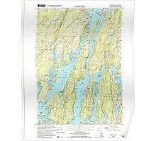 Maine USGS Historical Map Westport 103106 2000 24000 Poster