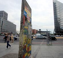 Berlin - Potsdamer Platz - The Wall by mmarco1954
