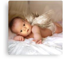 A Christmas Angel for David Parkin Canvas Print