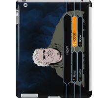 Who wants to be Hodor? iPad Case/Skin