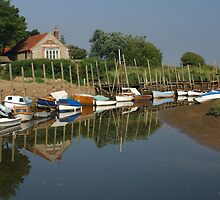 Blakeney in Norfolk by Dennis Smith