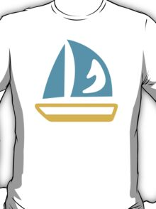 Sailboat Google Hangouts / Android Emoji T-Shirt