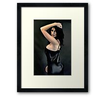 The Vamp Framed Print