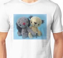 Sootie and Sweeps - Handmade bears from Teddy Bear Orphans Unisex T-Shirt