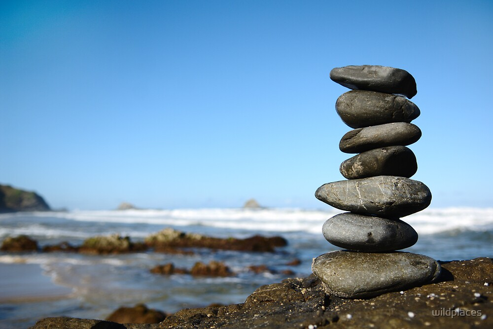 stack of stones by wildplaces