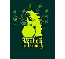 Witch in Training Photographic Print