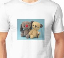 Mini Sooters and Mini Sweepers - Handmade bears from Teddy Bear Orphans Unisex T-Shirt