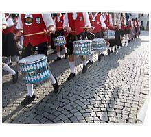 Bavarian drums Poster