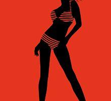bikini girl 6 by Micheline Kanzy