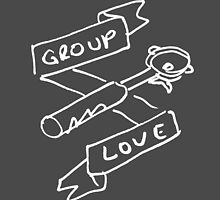 Group Love - Free Draw - White and Black Edition by strangerandfict