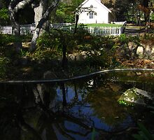 Peaceful Reflection, Prayer Chapel, Westmont College, Santa Barbara, CA 2008 by J.D. Grubb