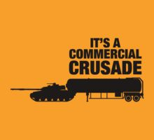 Commercial Crusade (blk) by buud