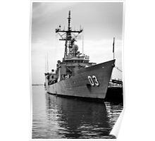 HMAS Sydney Naval Vessel Poster