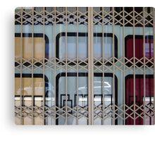 Gated Window Canvas Print