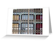 Gated Window Greeting Card