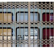 Gated Window Photographic Print