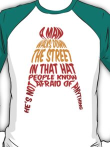 A man walks down the street... T-Shirt