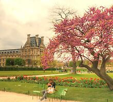 Springtime at the Tuileries Gardens, Paris by Michael Matthews