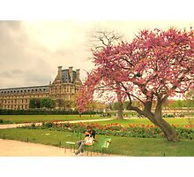 Springtime at the Tuileries Gardens, Paris Photographic Print