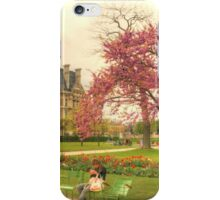 Springtime at the Tuileries Gardens, Paris iPhone Case/Skin