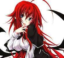 Anime Highschool DxD - Rias Gremory by ghoststorm