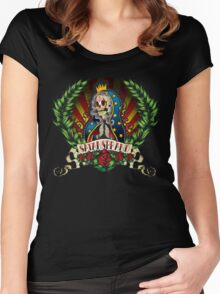 The Virgin of Guadalupe Women's Fitted Scoop T-Shirt