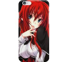Anime Highschool DxD - Rias Gremory iPhone Case/Skin