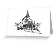 St John's Anglican Church, Wagga Wagga Greeting Card