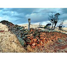 Settlers Wall Photographic Print