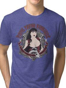 Yeehaw Pistol Packin' Mammaries Tri-blend T-Shirt