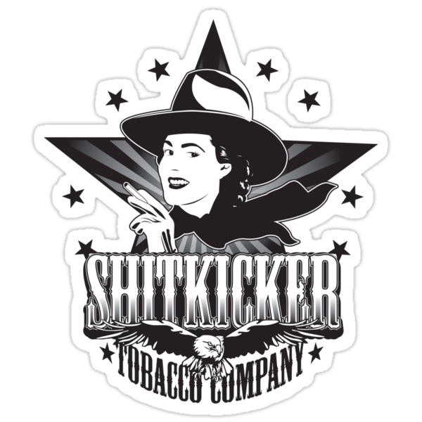 Shitkicker Tobacco Co. by Rob Stephens