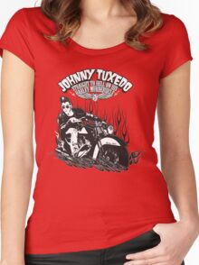 Johnny Tuxedo Women's Fitted Scoop T-Shirt
