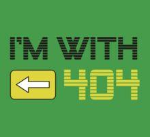 I'm with 404 by Matt Simner