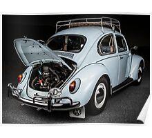 CarAndPhoto - Volkswagen Bug - Engine  Poster