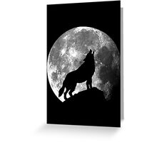 Howler Greeting Card