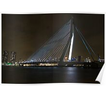 Erasmus Bridge Poster